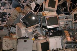 Reciclaje de la chatarra electrónica en España