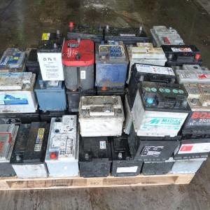 Reciclaje de baterías de coche