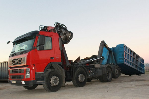 camion-contenedor